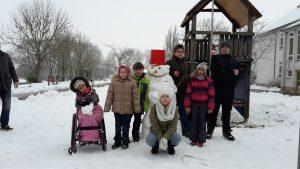 Unser Schneebär