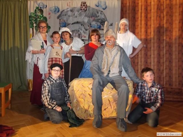 Der Müller mit Frau, Kind und Kegel...