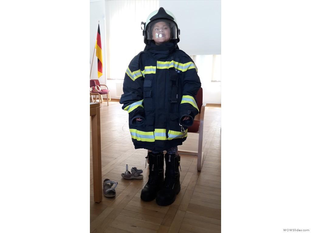 Feuerwehrfrau   Amelie