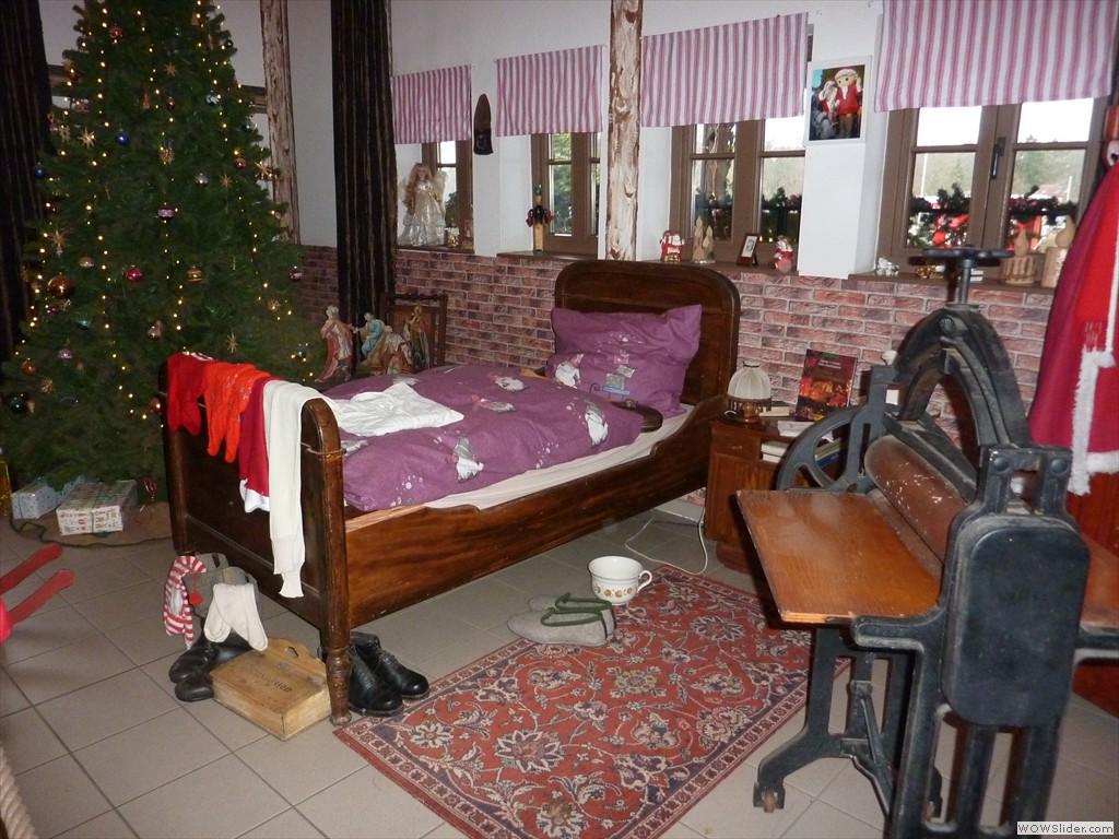 Das zu Hause vom Weihnachtsmann (1)